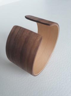 Armband notenhout